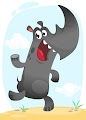 Cartoon Funny Rhino Free Download Vector CDR, AI, EPS and PNG Formats