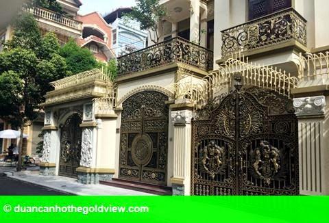 Hình 1: Dãy biệt thự xa xỉ của 3 anh em ruột đại gia Thái Bình