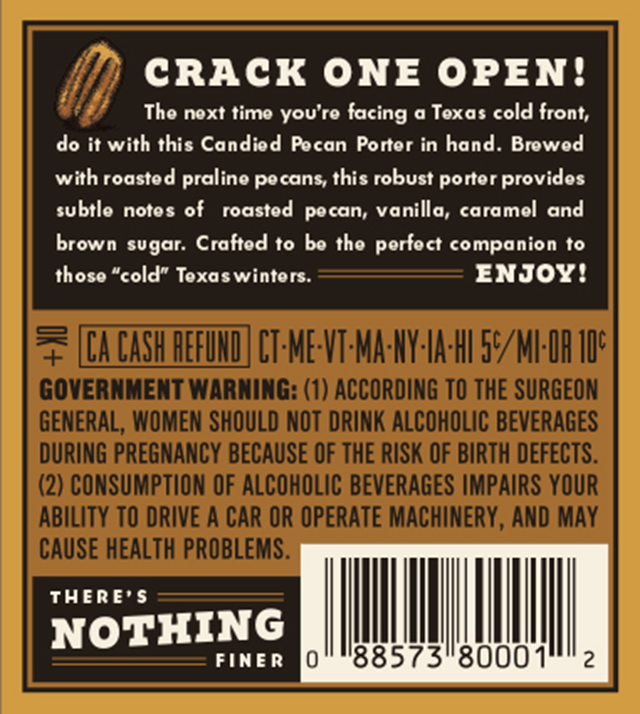 Shiner Adding New Candied Pecan Porter