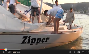J/22s sailing in Jamaica- Kingston YC