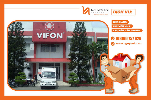 Vifon thuê xe tải chở hàng của Nguyên Lợi