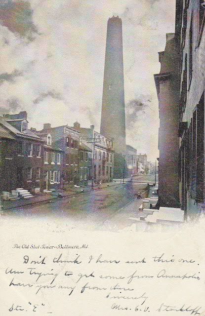 Shot Tower from Front Street