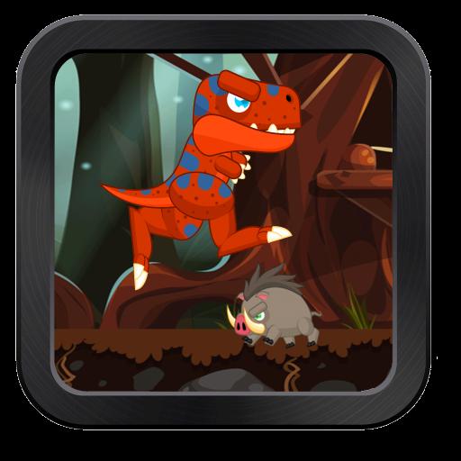 霸王龙探险侏罗纪跳转 休閒 App LOGO-硬是要APP