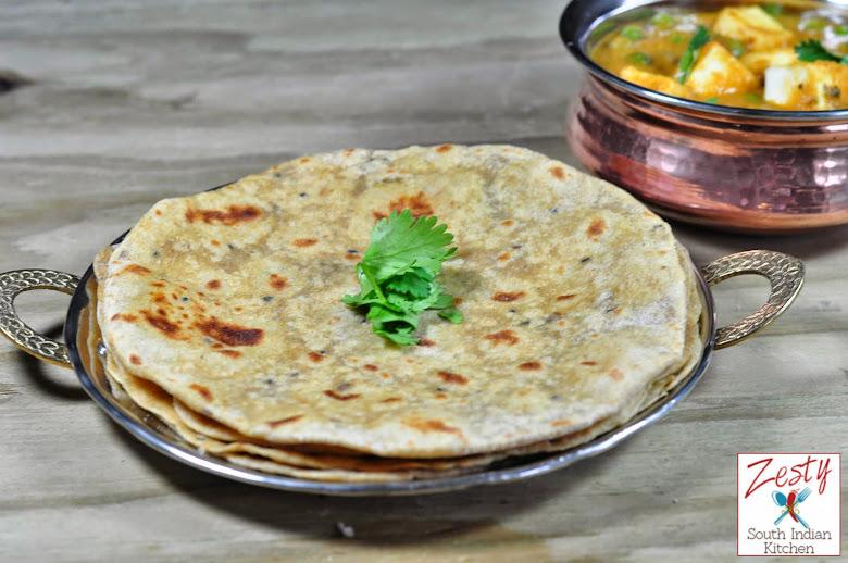 Avocado Chapathi/Avocado Paratha/Avocado Flat bread
