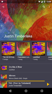 Timber Music Player- screenshot thumbnail