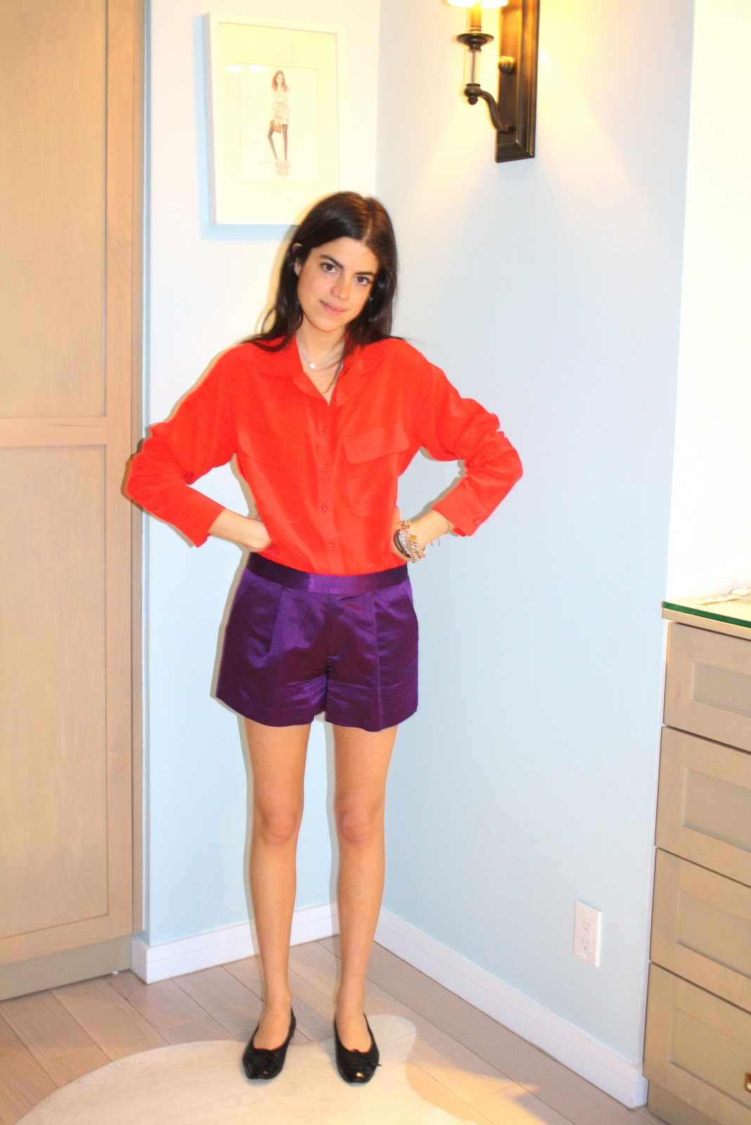 A lesson in color blocking x a monday giveaway man repeller fandeluxe Gallery
