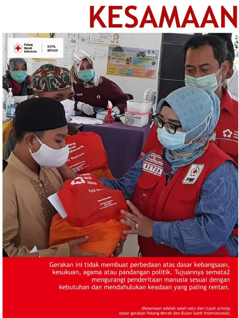 Ade Puspita Konsisten Lakukan Aksi Kemanusian di Tengah Pandemi Covid-19