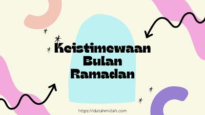 Keistimewaan Ramadan