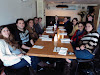 lab group lunch at the Sinta Bar