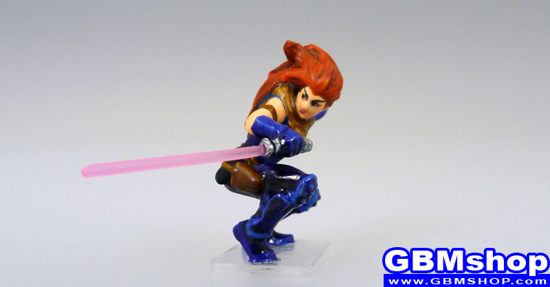 star wars miniature Imperial Assault the Emperor's Hand Mara Jade, Jedi #37 Alliance and Empire Star Wars Miniatures custom Customize and Painting