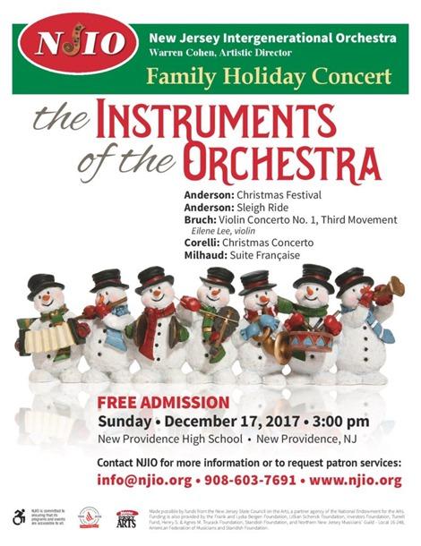Family Concert 2017 flyer