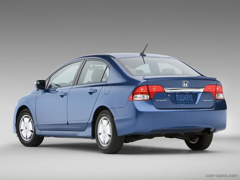 ... 2009 Honda Civic Hybrid 00006 ...