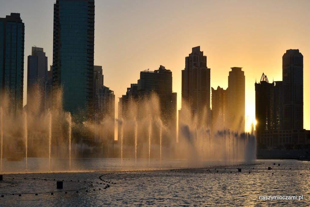 Fontanny przy Dubaj Mall'u