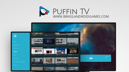 Puffin TV - Fast Web Browser imagem do aplicativo