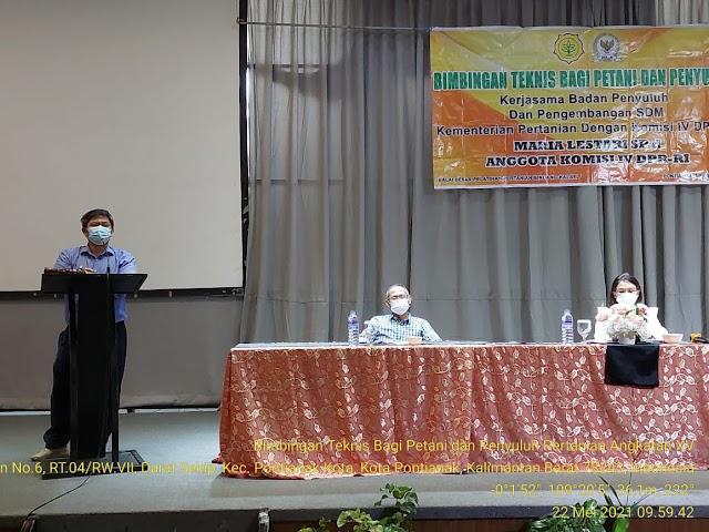 BBPP Binuang Merangkul Komisi IV DPR RI Siapkan Petani Milenial