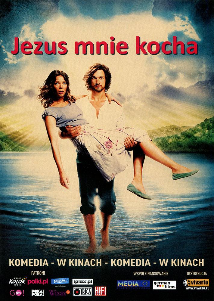 Ulotka filmu 'Jezus Mnie Kocha (przód)'