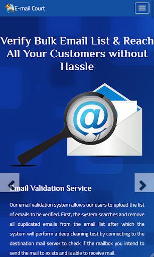 E-Mail Court – Validate Email Bulk Checker Tool screenshot 1