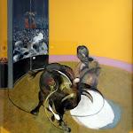Francis Bacon, Etude pour une corrida n°2, 1969, Huile sur toile
