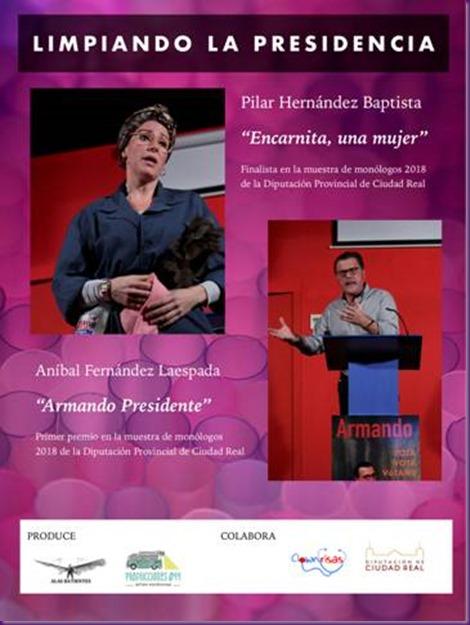 CARTEL-LIMPIANDO LA PRESIDENCIA-BUENO