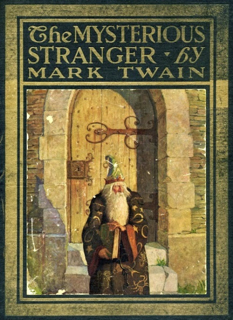 N. C. Wyeth - The Mysterious Stranger by Mark Twain, cover