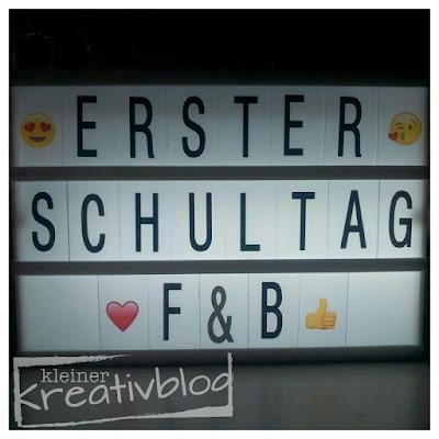 www.kleiner-kreativblog: 1. Schultag
