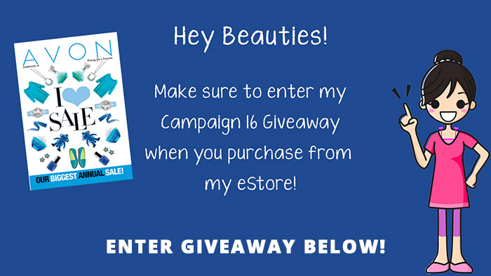 Avon Campaign 16 Giveaway
