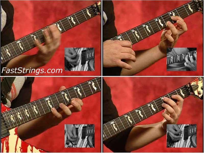 Dan Jacobs - Metal Guitar: Leads, Runs And Rhythms Level 2