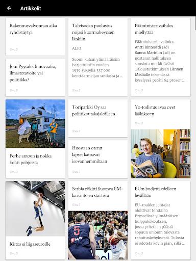 Turun Sanomat näköislehti screenshot 20