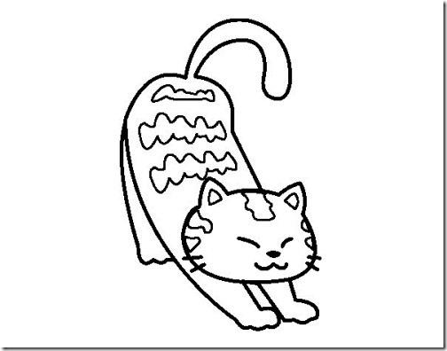 gatos colorear blogcolorear (1)