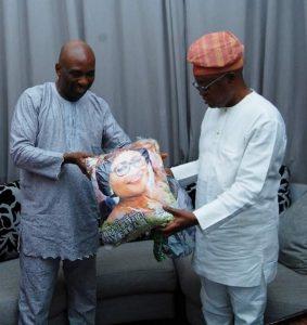 Osun State governor hosts Popular Prophet, Primate Ayodele