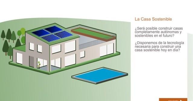 Alba piscinas com la casa sostenible la casa sostenible ideal es una casa bioclim tica es - Temperatura ideal calefaccion casa ...