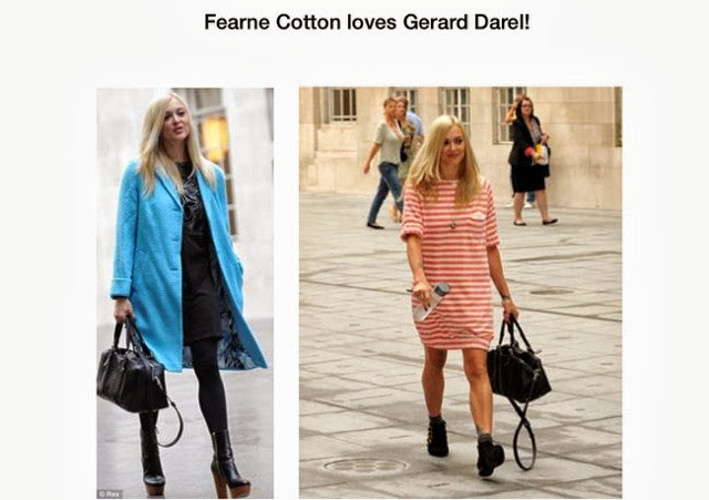 DIARY OF A CLOTHESHORSE: FEARNE COTTON STREET STYLE ...