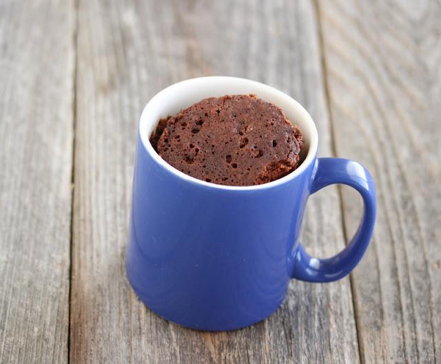 photo of a Chocolate Mug Cake