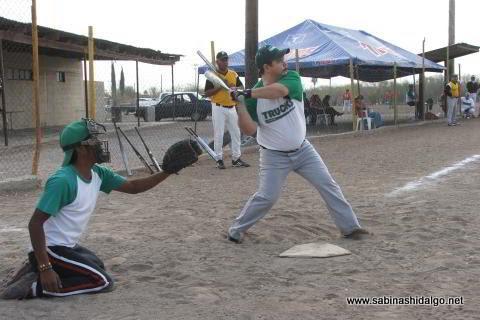 Baltazar Ibarra de Perrones en el softbol del Club Sertoma