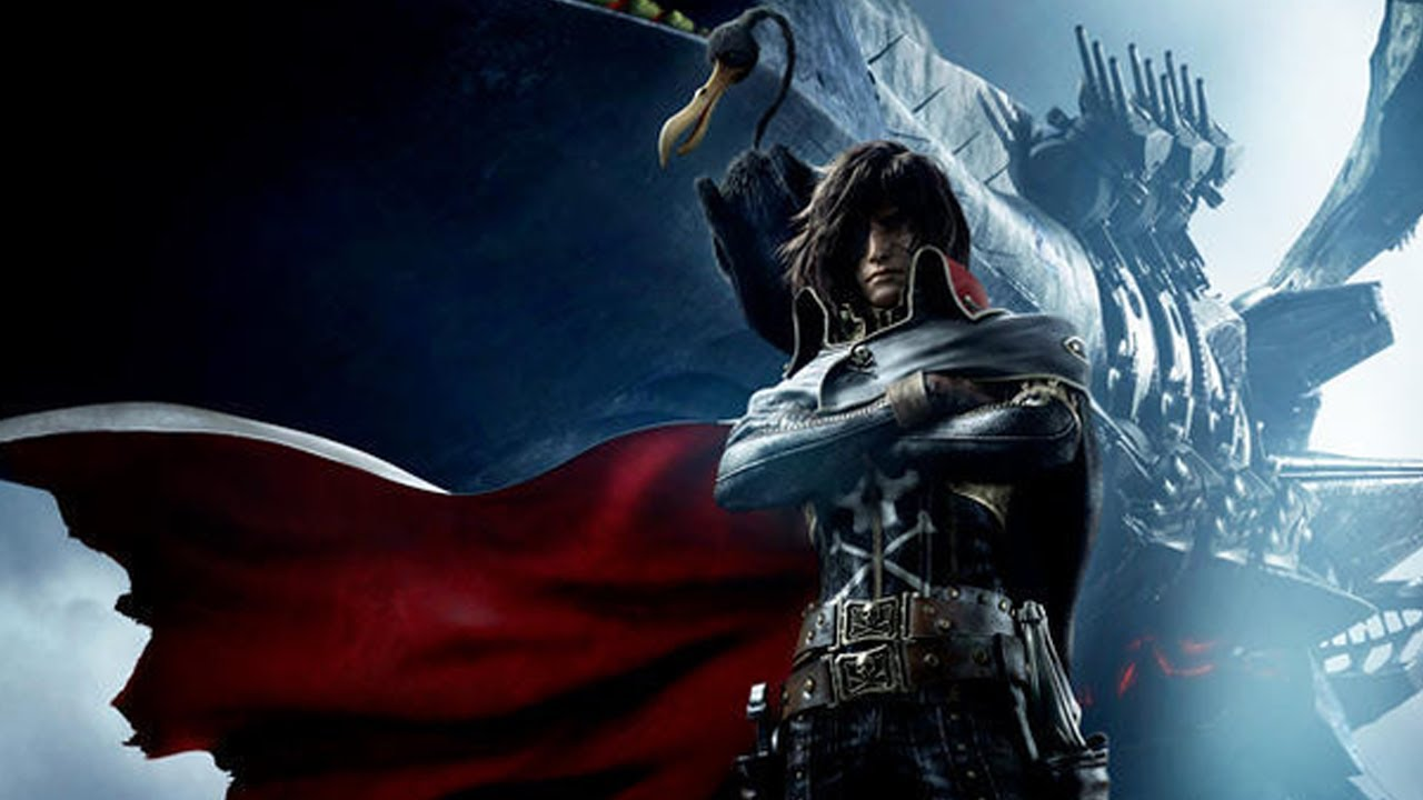 Space Pirate Capt патамуштаin Harlock 2013