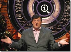 Stephen Fry on QI-8x6