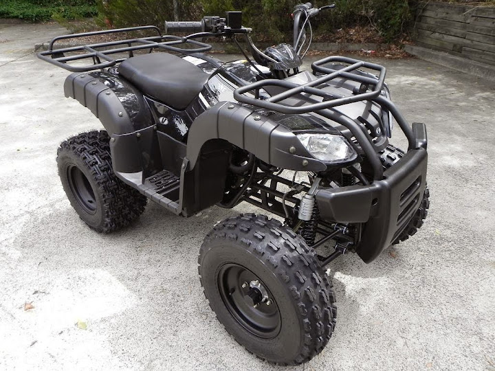 250cc Farm Quad Bike ATV Standard Manual Black