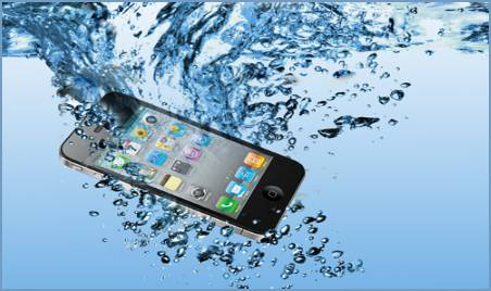 What to do when your phone accidentally fall inside water.
