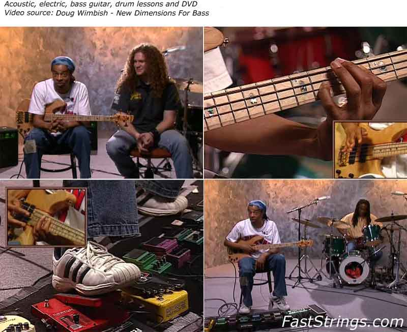 Doug Wimbish - New Dimensions For Bass