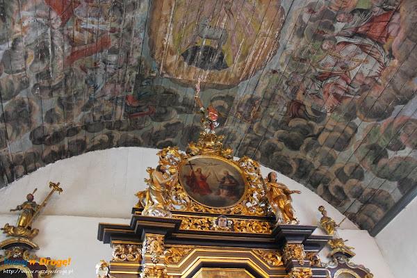 malowidła w Kościele w Lubieszewie