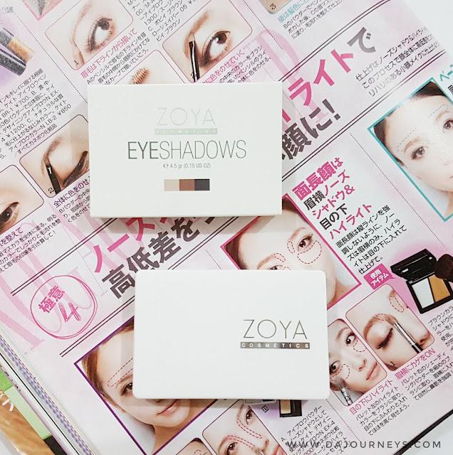 [Review] ZOYA Cosmetics Triple Eyeshadow