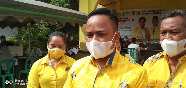 Ketua DPRD Bartim Ajak Semua Pihak Dukung Percepatan Vaksinasi