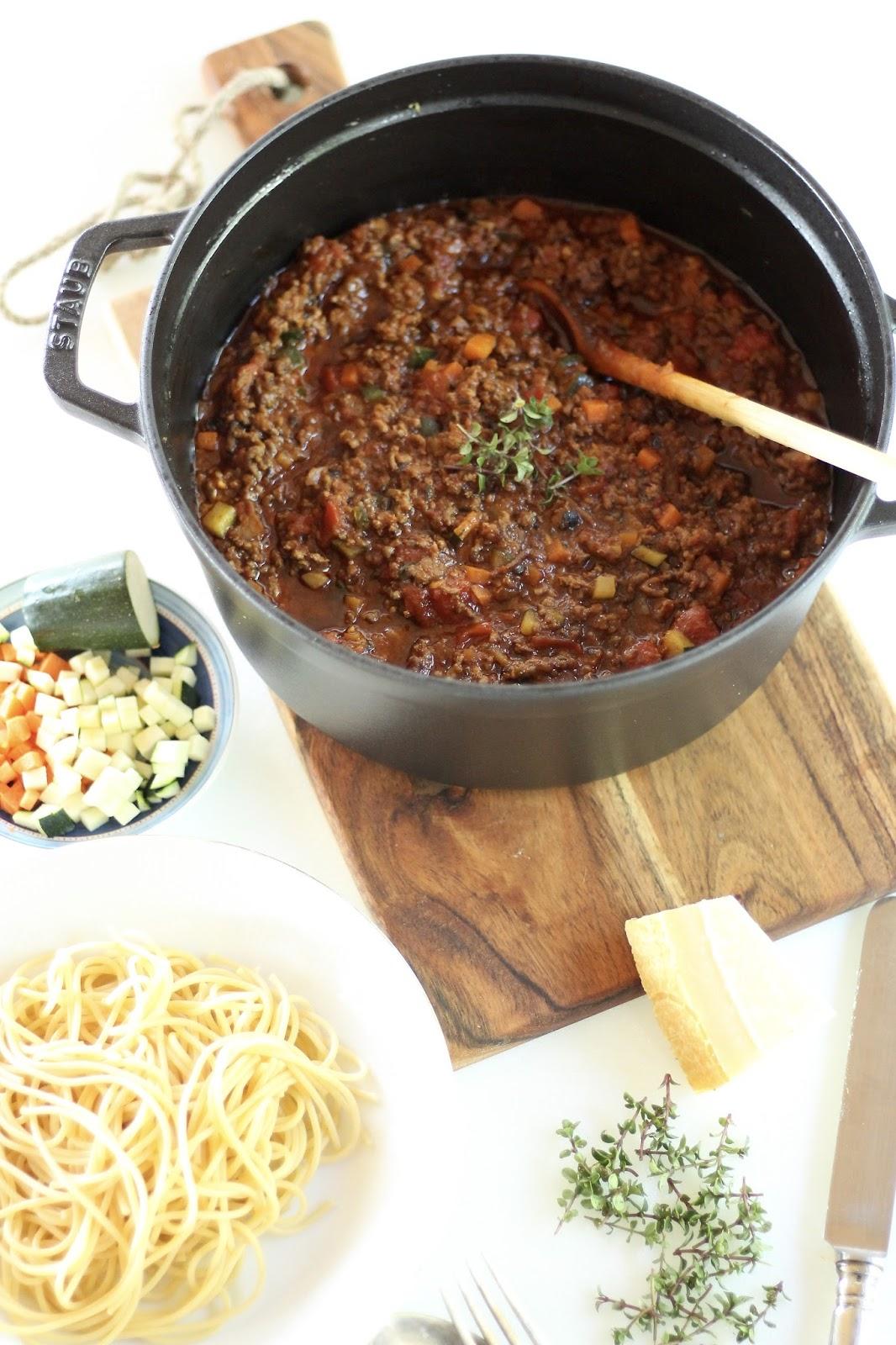 Spaghetti Bolognese à la Yushka - Rezept für die feinste Bolognese!