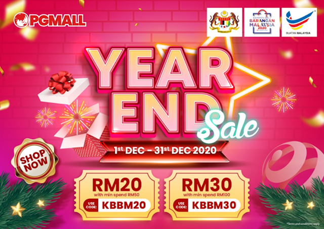 Year End Sales di PG Mall