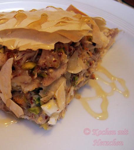 Marokanische Pastete - Pastilla