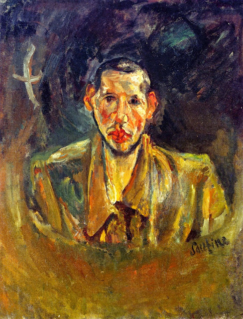Chaim Soutine - Self-Portrait with Beard