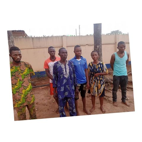 Father and children arrested for alleged kidnapping in Ogun, SD News Blog, crime news nigeria,