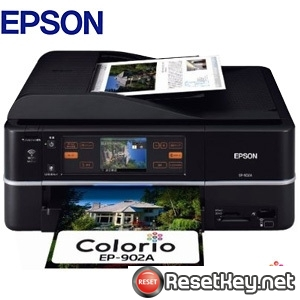 Reset Epson EP-902A printer Waste Ink Pads Counter