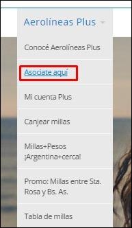 Abrir mi cuenta Aerolineas Argentinas - 2