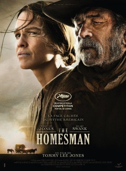 Poster Of English Movie The Homesman (2014) Free Download Full New Hollywood Movie Watch Online At Alldownloads4u.Com